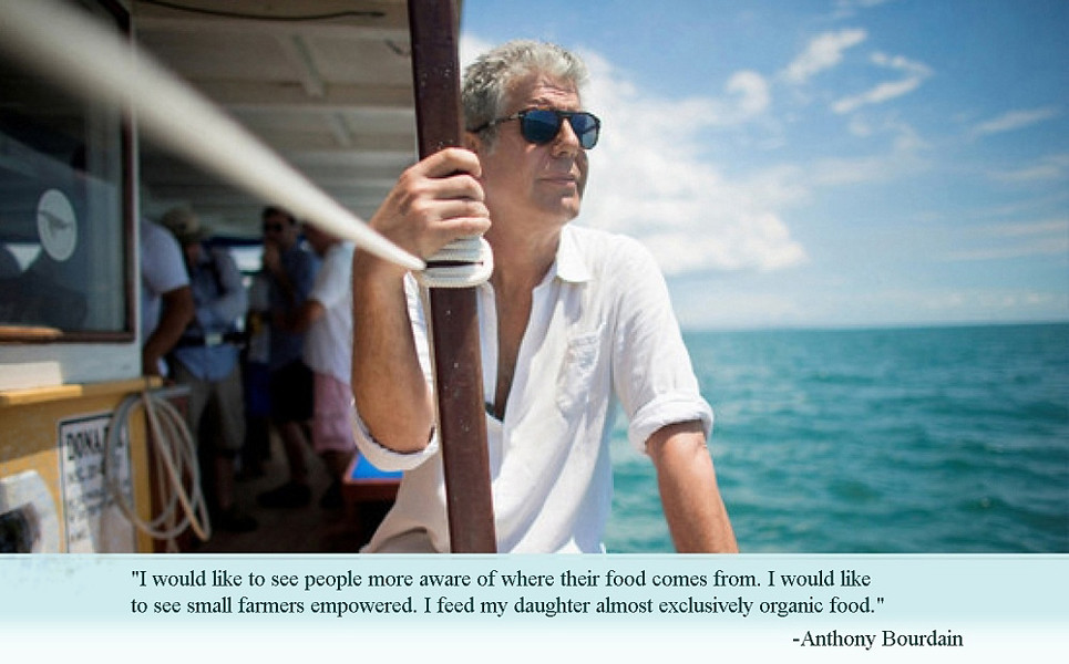 The 13 wisest things Anthony Bourdain said about travel